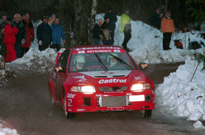 Mikael ericsson i svenska rallyt